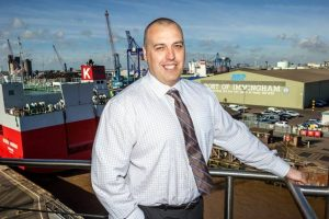 Mark Frith is looking forward to managing the UK's busiest port by tonnage (image courtesy of ABP / David Lee Photography)