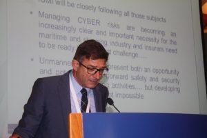 IUMI legal and liability chairman Frédéric Denèfle.