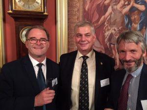 Sean Moloney, Les Chapman and Andrew Chamberlain