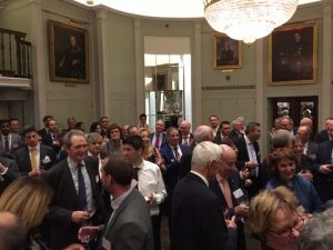 A view from the reception at Trinity House