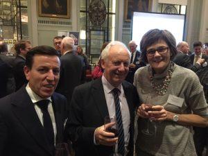 BV's Yiannis Calogeras, Tom rogers and Alline De Bievre