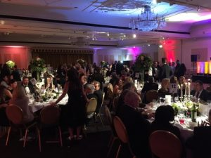 A view of the Westminster Ball Room