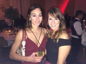 Niki Tiga with Carolyn Vullo