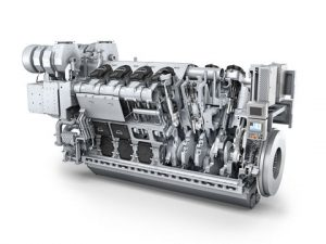 Library image of an MAN 32/44CR engine