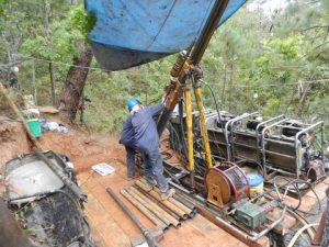 Construction at Terronera.