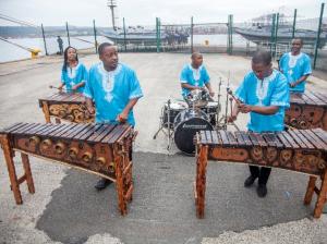 ...a marimba band