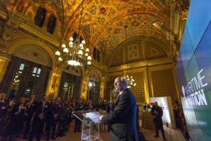 ABP Chief Executive James Cooper addresses the Maritime Nationat the Foreign and Commonwealth Office