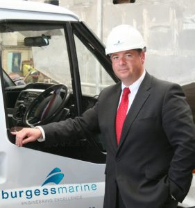 Nick Warren, who is Chief Executive of Britain's largest independent ship repairer and marine engineering services provider Burgess Marine