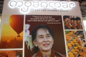 Myanmar's message.
