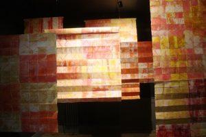 'In the Field' hangings by Anne Krinsky.