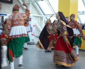 Incredible India dance troupe opens WTM.