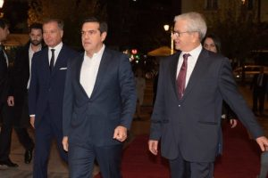 From the arrival of Greece's PM Alexis Tsipras