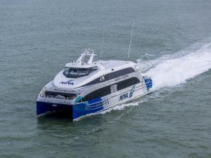 Damen Fast Ferry 4010 Nina