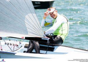Finn gold medallist Jake Lilley