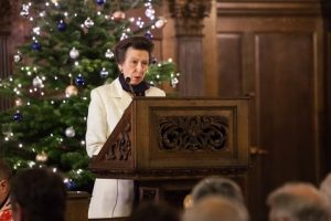 HRH The Princess Royal reading the First Lesson