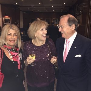 Anny Zade, Dr. Aleka Sheppard and George A. Tsavliris