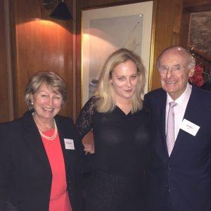 Hanny, Katrina and Jim Davis