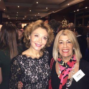 Zoe G. Tsavliris with Anny Zade