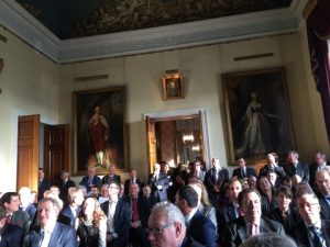 A full house attending at Trinity House