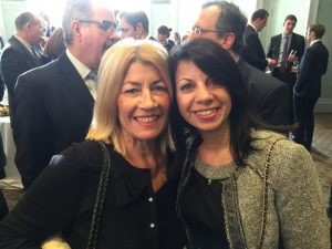 Anny Zade with Dorothea Ioannou