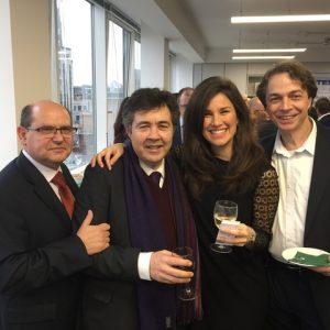 LISCR's Costas Ladas, DNV GL's Kostas Papadakis, Intrecargo's Vivian Venizelou and PACCShip's UK Mladen Velimirovic