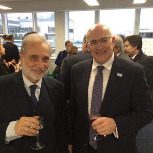 Star Bulk's Dimitris Kondylis with IMO's Frederick J. kenney