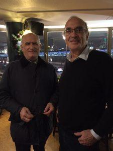 Lomar's george Dimitriou with DNV Gl's Evan Zaranis