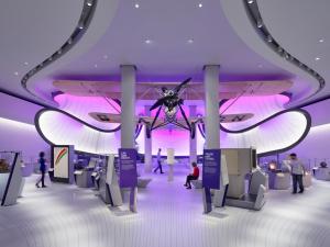 Winton Gallery designed by Zaha Hadid Architects, c. Nick Guttridge.
