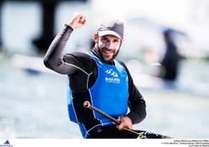 Pavlos Kontides wins gold