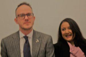 David Rooney and Bidisha Sinha.
