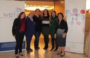 l to r: Maria Mavroudi, Anjie Hartmann, Karin Orsel, Maria Angelidou, Elpi Petraki and Ioanna Topaloglou