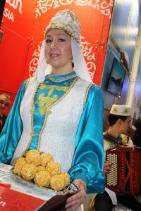Kazan's welcome at World Travel Market.