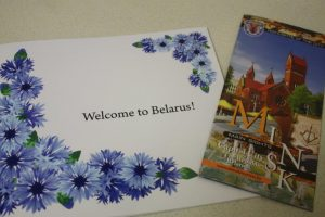 Brochures from Prime Tour and from Minsk Tourist Information Centre.