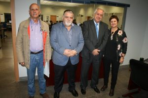 Mr. Erasmo Cabrera, Capt. Antonio M. Padrón, Mr. Alberto Villalobos and Ms. Carmen Fernández