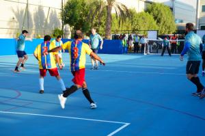 GAC Dubai new staff sports facility.
