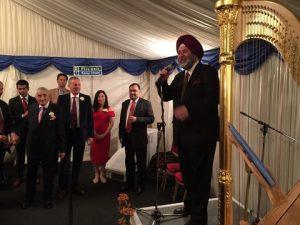 Ambassador of India to the EU, Belgium and Luxembourg  Manjeev Singh Puri.
