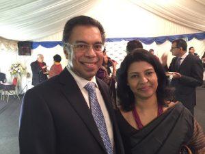 Dr. Abdul Rahim and his wife Manju
