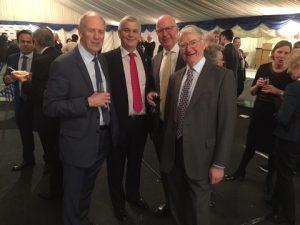Dr. Peter Swift, Les Chapman,  and Captain Roger Holt